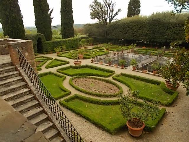 Il giardino all italiana della certosa di pontignano - Giardino all italiana ...