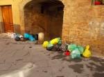 siena spazzatura per le vie del centro (2)