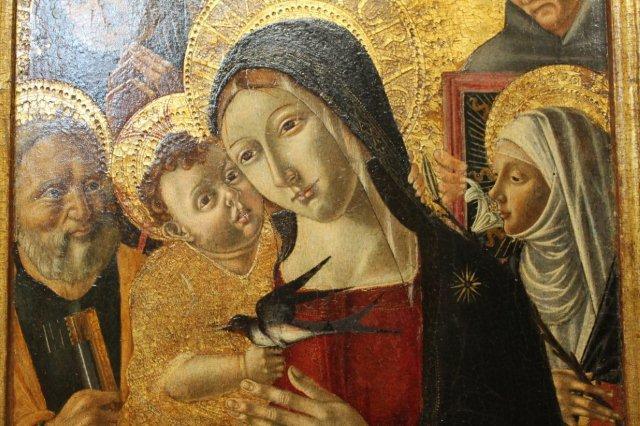 la-vergine-con-la-rondine-di-matteo-di-giovanni-pinacoteca-comunale-di-castiglion-fiorentino