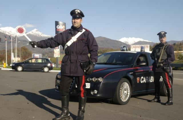 carabinieri, foto da la nuova provincia di biella