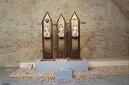 arezzo, mostra dell'angelo di ugo riva (5)