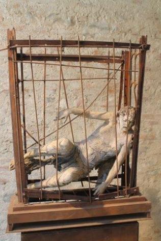 arezzo, mostra dell'angelo di ugo riva (7)