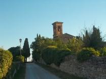 rapolano, chiesa di san vittore e lampioni danneggiati (10)