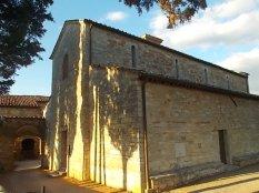 rapolano, chiesa di san vittore e lampioni danneggiati (2)