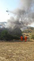 incendio montegrossi 16 agosto 2017 foto racchetta gaiole in chianti (3)