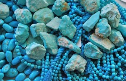 le-pietre-fini-turchese foto da caverna cosmica