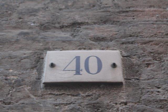 Numeri Civici In Plastica.Siena Numeri Civici 10 Andrea Pagliantini