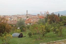 firenze, giardino delle rose, folon, (17)