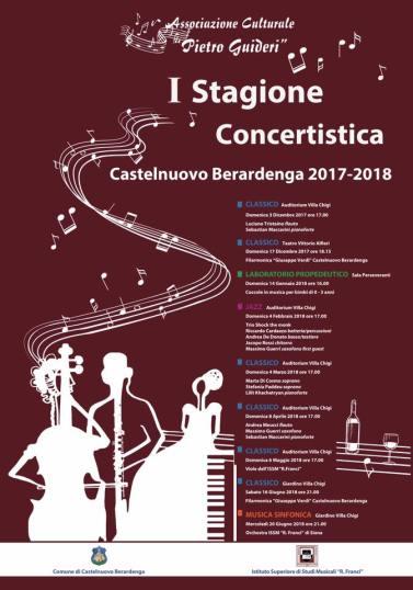 programma stagione concertistica villa chigi castelnuovo berardenga