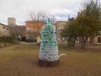 albero bottiglie plastica bambini chianti (3)