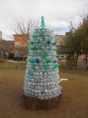 albero bottiglie plastica bambini chianti (4)
