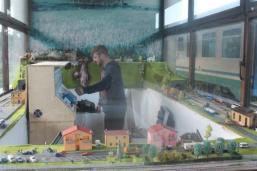 modellismo treni elettrici stazione di siena (5)