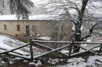 neve 3 febbraio montegrossi e badia a coltibuono, chianti (39)