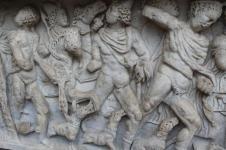 mito di meleagro cacciatore di cinghiali sarcofago salerno (11)