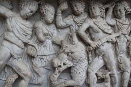 mito di meleagro cacciatore di cinghiali sarcofago salerno (13)