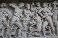 mito di meleagro cacciatore di cinghiali sarcofago salerno (3)