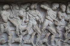 mito di meleagro cacciatore di cinghiali sarcofago salerno (4)