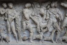 mito di meleagro cacciatore di cinghiali sarcofago salerno (6)