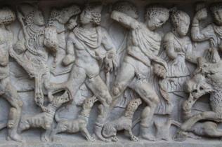 mito di meleagro cacciatore di cinghiali sarcofago salerno (8)