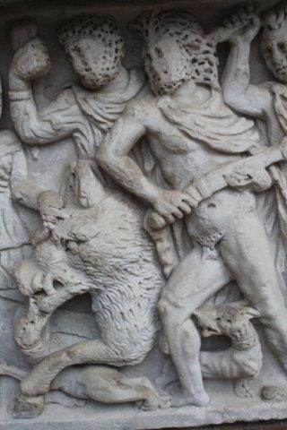 mito di meleagro cacciatore di cinghiali sarcofago salerno (9)
