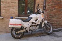 montepulciano e i vigili urbabi in motocicletta (14)