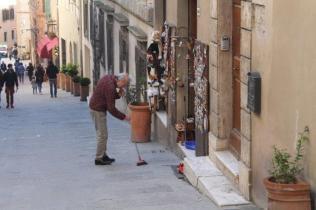 montepulciano e i vigili urbabi in motocicletta (15)