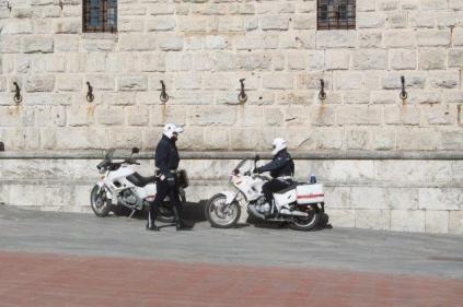 montepulciano e i vigili urbabi in motocicletta (9)