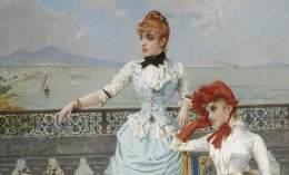Vittorio Corcos - Due donne foto da orsosognante