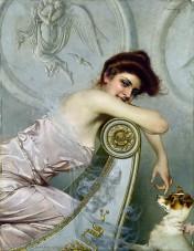 Vittorio-Corcos-Ritratto-di-giovane-donna-1895 foto da tanogabo