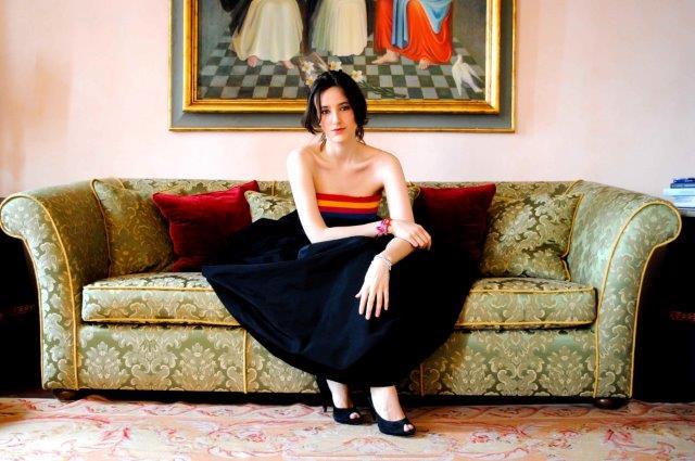 clio biondi santi foto da the italian magazine