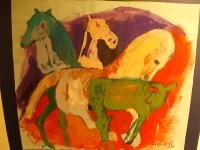 il cavallo degli artisti magazzini del sale siena (12)