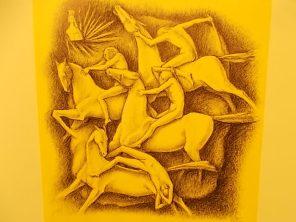 il cavallo degli artisti magazzini del sale siena (14)