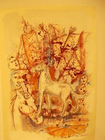 il cavallo degli artisti magazzini del sale siena (25)