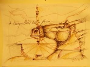 il cavallo degli artisti magazzini del sale siena (27)