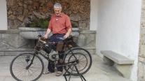 vertine e badia a coltibuono auto club e moto d'epoca siena e triciclo a motore primetti stucchi (4)