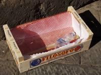 cassetta arance abbandonata in piazza duomo (5)