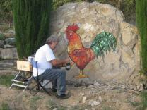 renato ferretti e il gallo di vertine (2)