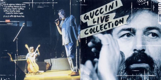 francesco guccini - live collection - front