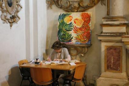 renato ferretti mostra sala rosa università di siena (5)