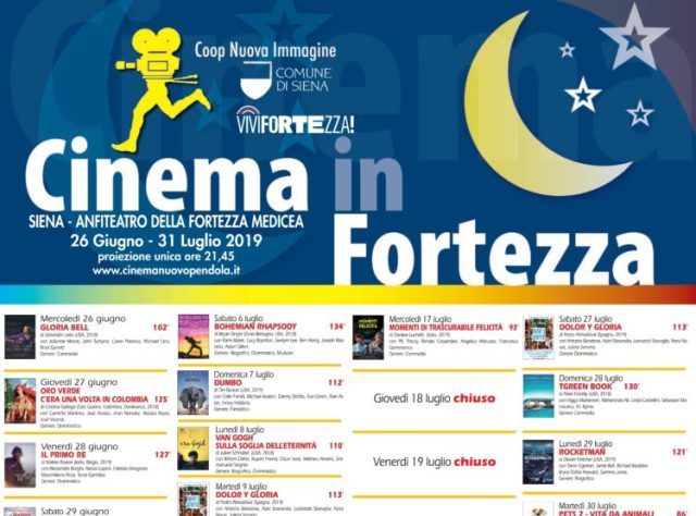 cinema in fortezza siena