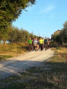 gruppo escursionisti berardenga e colazione contadina (3)