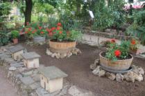montalcino, tita, giardino, tavoli ristorante (22)