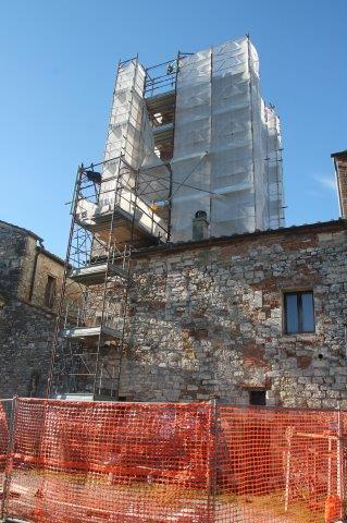 restauro campanile pieve san vittore rapolano (10)