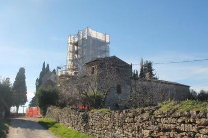 restauro campanile pieve san vittore rapolano (2)