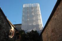 restauro campanile pieve san vittore rapolano (6)