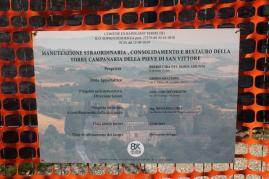 restauro campanile pieve san vittore rapolano (8)