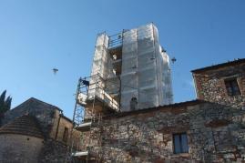 restauro campanile pieve san vittore rapolano (9)