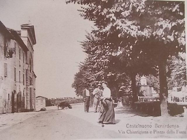 castelnuovo berardenga cartolina d'epoca (4)