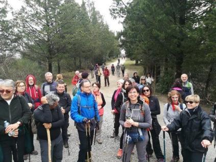 gruppo escursionisti berardenga a rosennano