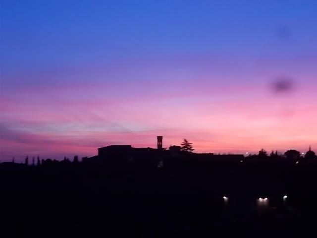 tramonto villa a sesta
